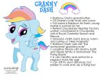 My Little Pony OC: Granny Dash by NewportMuse