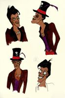 Facilier Poses by MichellePrebich
