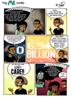 The Me Comic -Cause I'm Honest by chillyfranco
