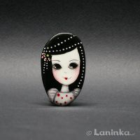 Hand painted ring by 1anina