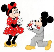 Mickey's Proposal by bethhigdon