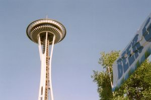 space needle by acollins973