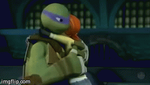 Donatello + April's Awesome Kiss Gif by JasmineAlexandra