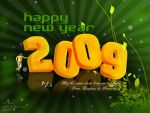 Wish U Happy New year 2009 by darbez