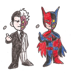 The Two Faces of Two-Face by Mbecks14