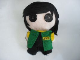 Fun Ghoul Plushie by mollytheimmortal