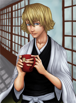 Finished an old Kisuke thing. by yourcommonmuggle