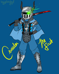 Crusader the First by Izzydactyl