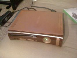 In Progress:Steampunk Xbox top by aderynthemoose