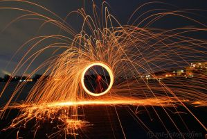 first experiments with steel wool 3 by MT-Photografien