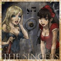 The Singers by sketchlanza