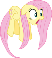 Fluttershy getting high thanks to Dashie by UmbraVivens
