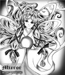 Clow card: The MIRROR by dlareyen