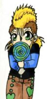 Demyx's Lollipop by sanely-insane