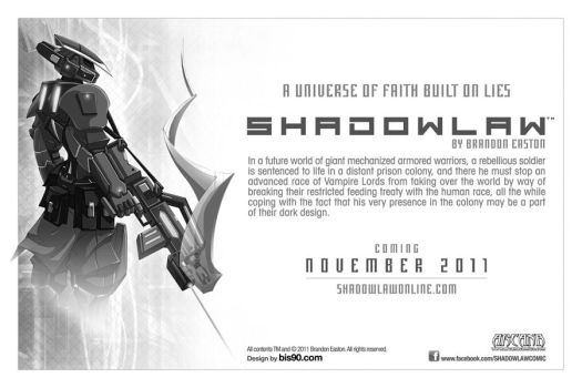 Image of Shadowlaw postcard by BrandonEaston2009