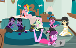 Odd Balls Slumber Party by SelenaEde