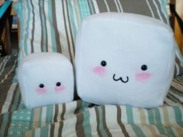 Small and Medium Tofu by MONSTERCreations