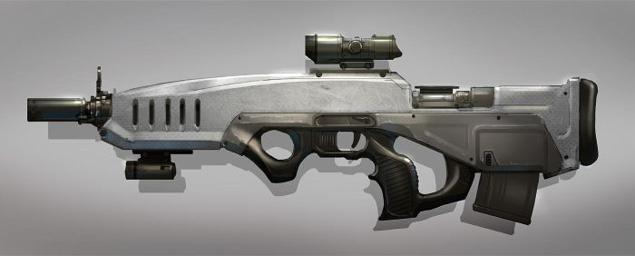 Compact Sniper Rifle by MeckanicalMind