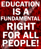 Education is a Right by Party9999999