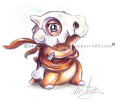 MD Cubone by ManiacalMew