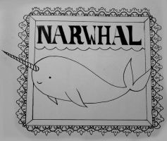 narwhal by Mrs-Elric-613