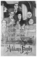 The Addams Family Montage by Knight-of-olde
