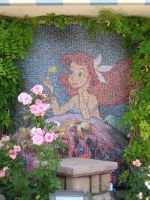 Mosaic - Little Mermaid by disneyland-stock