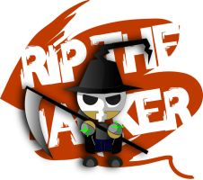 Rip The Jacker Mini Character by 13sticker