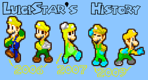 History of LuigiStar by LuigiStar445