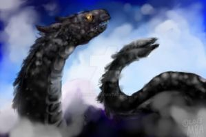 Dragon Of The Mists by Airokat