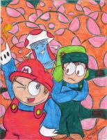 Super South Park Bros. by TipsyMcBoozerton