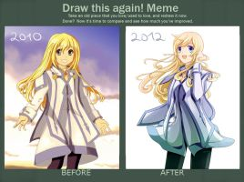 Draw this again! - Colette by mirabe
