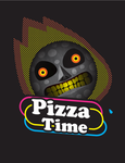 Anger Pizza Moon by D4rkfortman