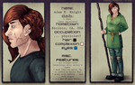 Character Sheet: Adam by cosmogyral-delirium