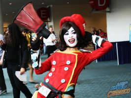 SDCC 2012: Crowd pleaser Moxxi by Enasni-V