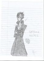 Sherlock Holmes and his awesome coat by xXKatnissXx