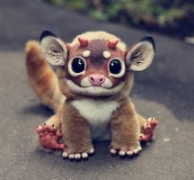 My Little Dragon: Bambi by Santani