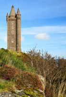 Scrabo Autumn Morning II R by Gerard1972