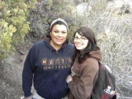 Me N Sis at Devil's PunchBowl by XEscapeFromRealityX