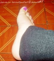 Adorable Little Foot n Toes by SelfshotYourFeet