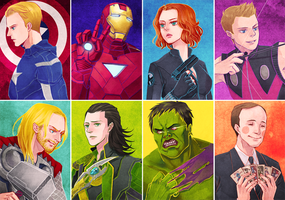 The Avengers by kai-shii