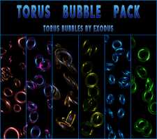 torus bubble pack preview for DA by Beastbomb