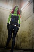 Gamora, Guardians of the Galaxy cosplay Animethon by calgarycosplay