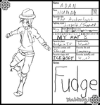 Mabinogi Character Card - Adan by Man-of-Pants