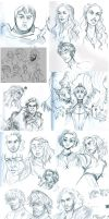Game of Thrones studies by curry23