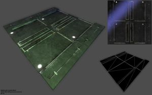 Modular Floor Piece by samdrewpictures