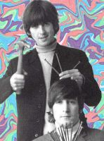 George and John and nails by sleepyhead12567