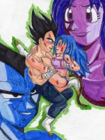 Ruu's contest- saiyans passion by Nessie-Noodlez