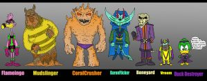 Domestic-6 ArchFiends by Lordwormm