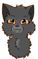 Yellowfang by HollyTheBlackCat